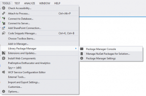 PowerShell-VisualStudioLibraryPackage